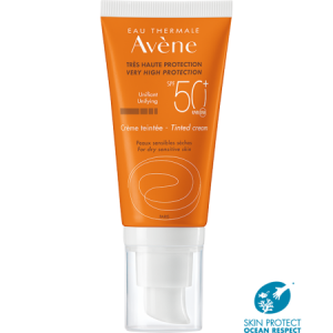 AVENE CREMA COLOREADA SPF 50+
