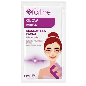 FARLINE MASCARILLA GLOW 10 UDS